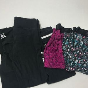 Victoria secret Pink lot 5 pants size small